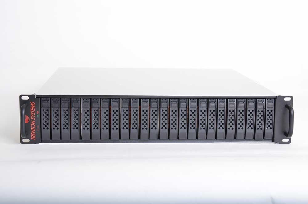 24 U.2 NVMe SSDs JBOD Server