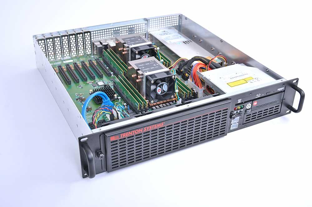 2U PCIe Slots Server