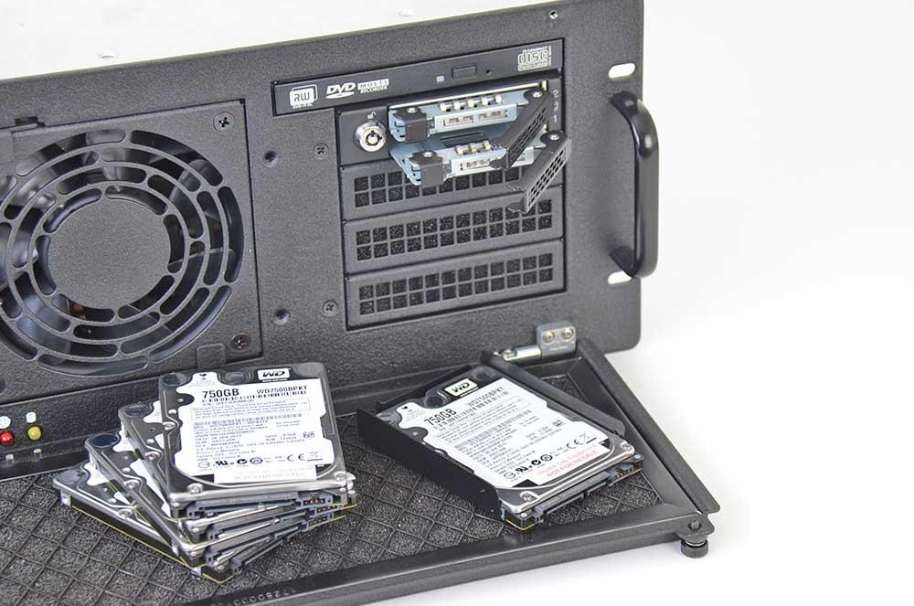 4U Rugged Servers Storage SATAsfied 2