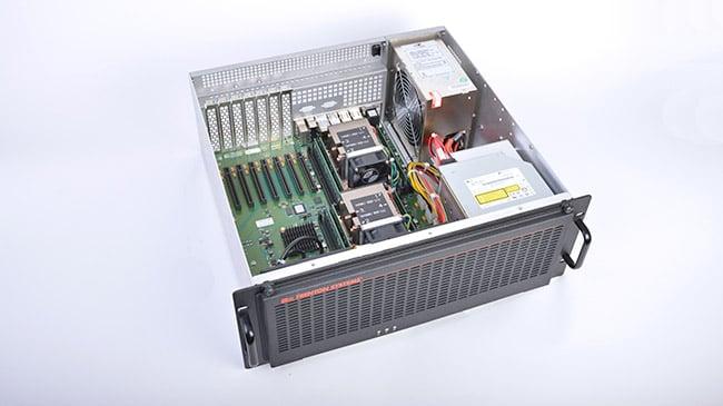 A 4U Rugged Server
