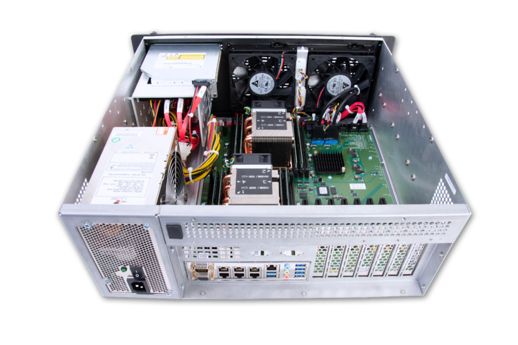 A MIL-STD-810-certified 4U Rugged Server by Trenton Systems