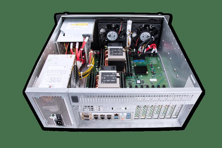 MIL-STD-810-certified 4U Rugged Server