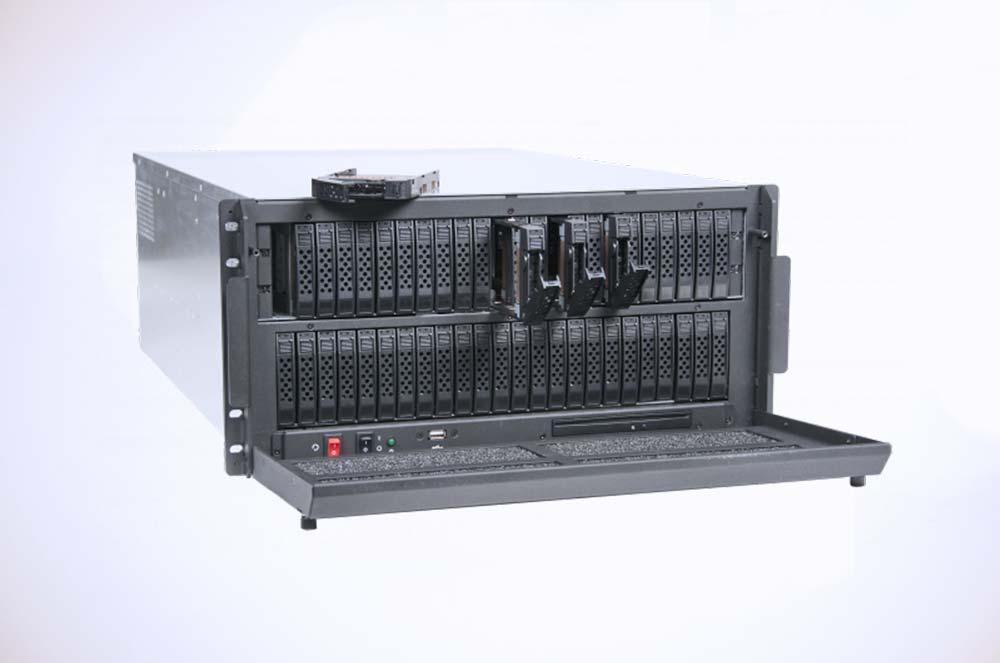 5U Rugged Storage 48 Front-Facing Drives