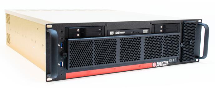 Trenton Systems' secure 3U BAM Server