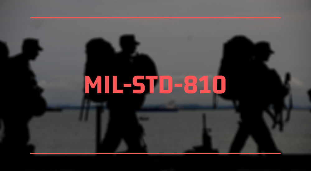 """A graphic that states """"MIL-STD-810"""""""