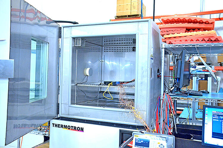 A Thermotron Temperature and Humidity Testing Chamber