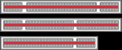 BPX6610 Backplane option card slots