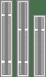 HDB8236 Backplane Slots
