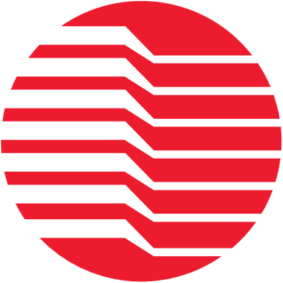 Trenton Systems' red-and-white circular logo