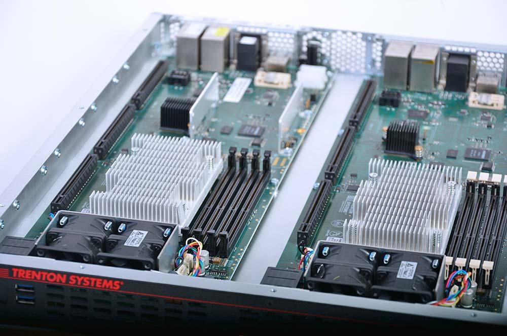 Two Processor Boards in a 1U Workstation