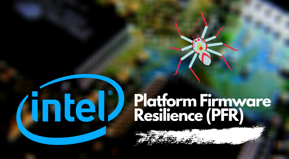Intel Platform Firmware Resilience (PFR) graphic