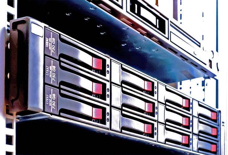 RAID-configured storage system
