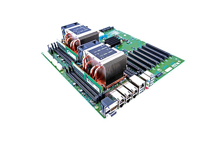 Trenton Systems' SSP dual Xeon motherboard