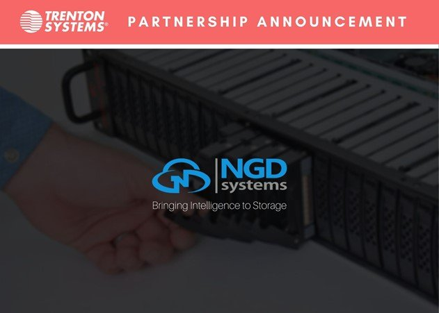 Trenton Systems and NGD Systems announce their partnership