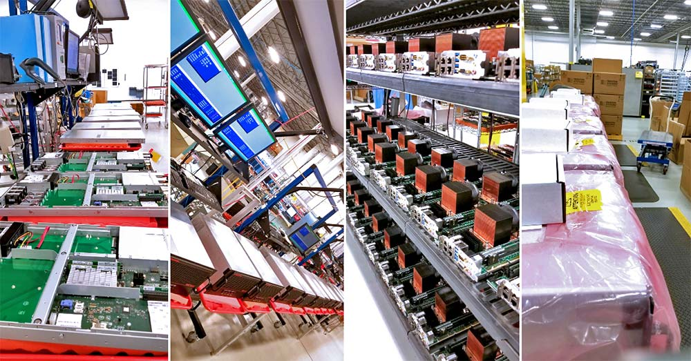 Trenton Systems' production facility