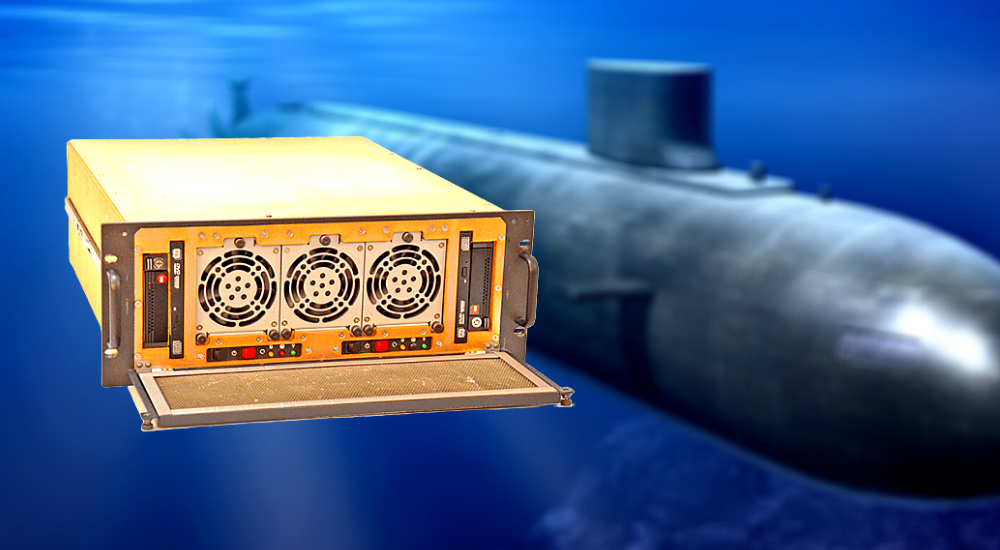 Trenton Systems' rugged workstation, the TMS4711, perfect for Navy submarine warfare systems
