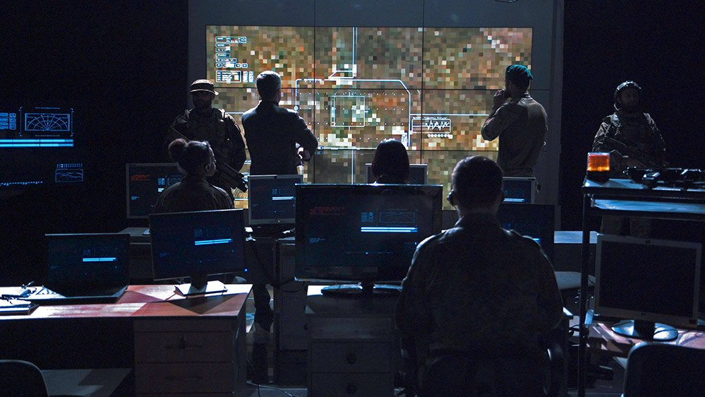 An example of a command and control center