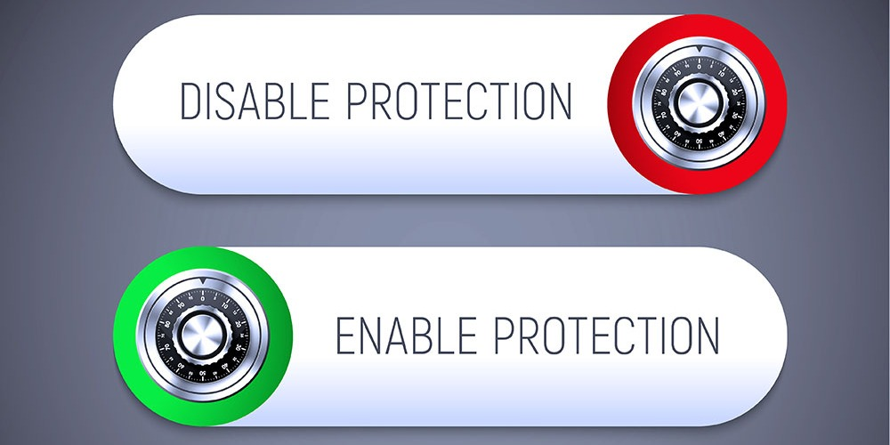 This is a graphic showcasing the ability to disable or enable Intel SGX protection.