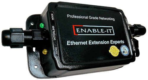 An Ethernet extender manufactured by EnableIT