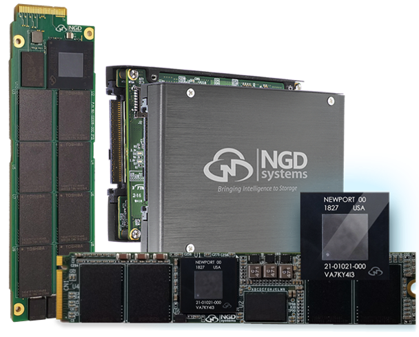 NGD Systems' computational storage drives