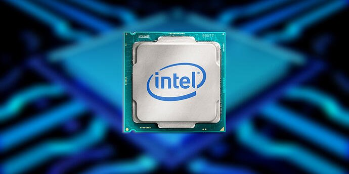 This is a photo of a generic, nameless Intel CPU.