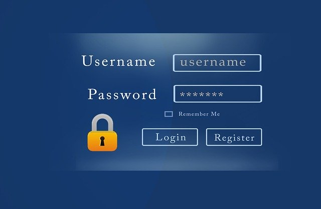 A username and password prompt