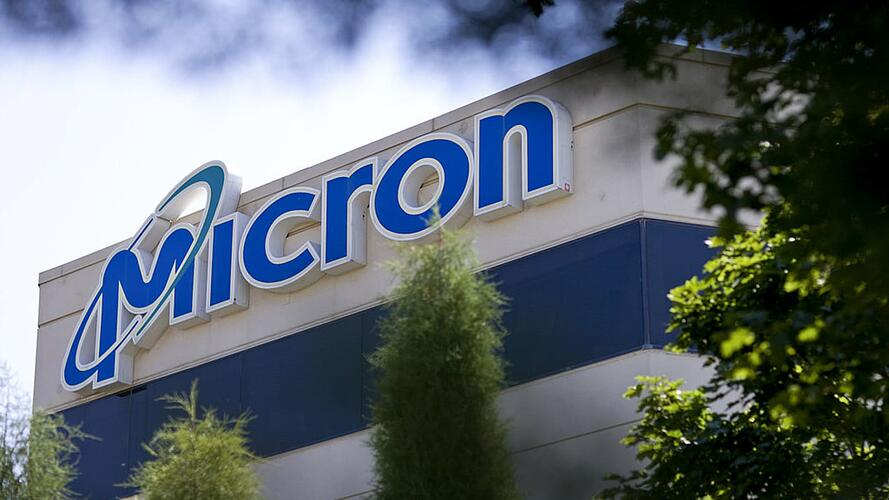 A facility owned by Micron