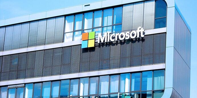 Photo of Microsoft building