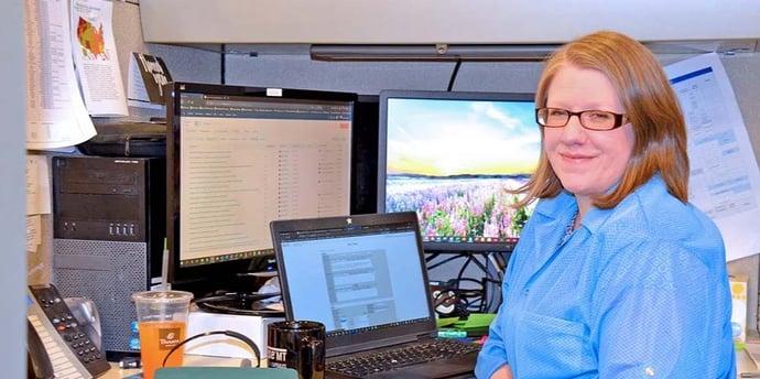 Nancy Pattillo, technical support supervisor at Trenton Systems