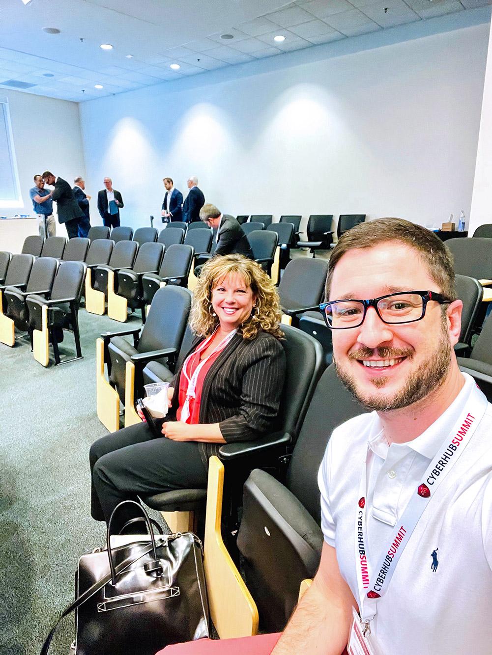 Kimberly Carter-Clark, Strategic Account Manager at Trenton Systems, and Yazz Krdzalic, Vice President of Marketing at Trenton Systems