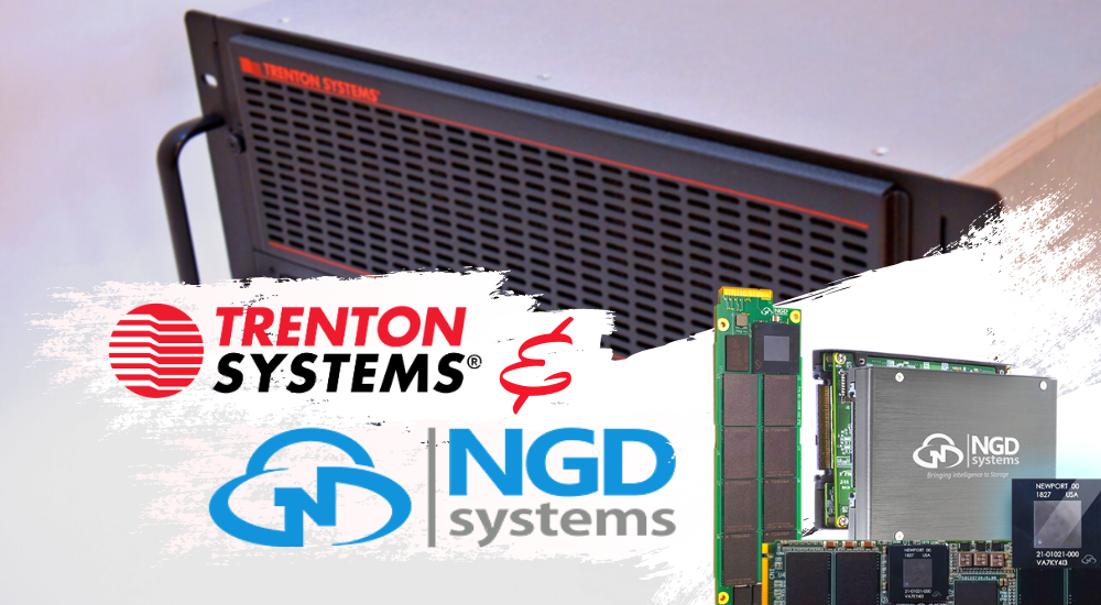 Trenton Systems partners with NGD Systems for computational storage