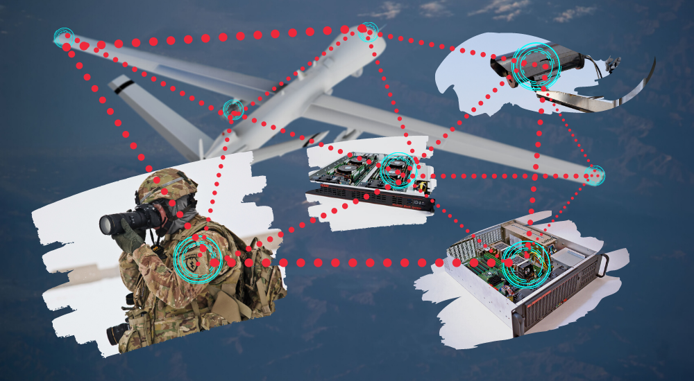 5 Ways Edge Servers Improve UAV Military Programs, Applications